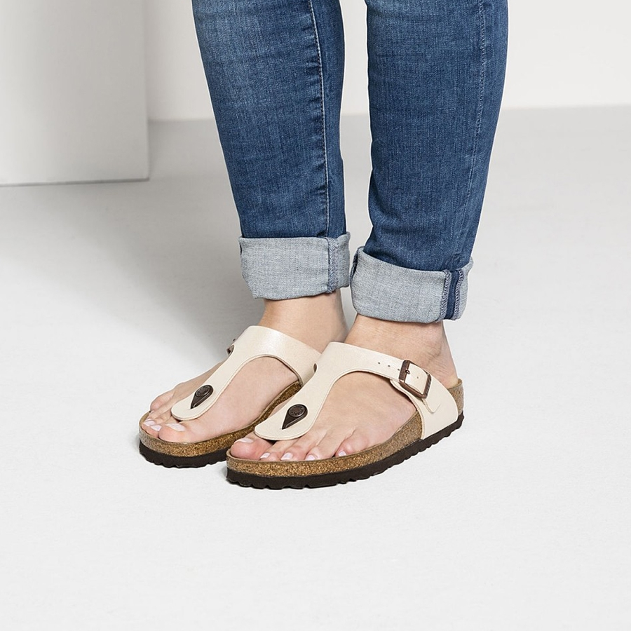 official photos c9184 fdfff Birkenstock: sandali, infradito, pianelle. Come indossarle?