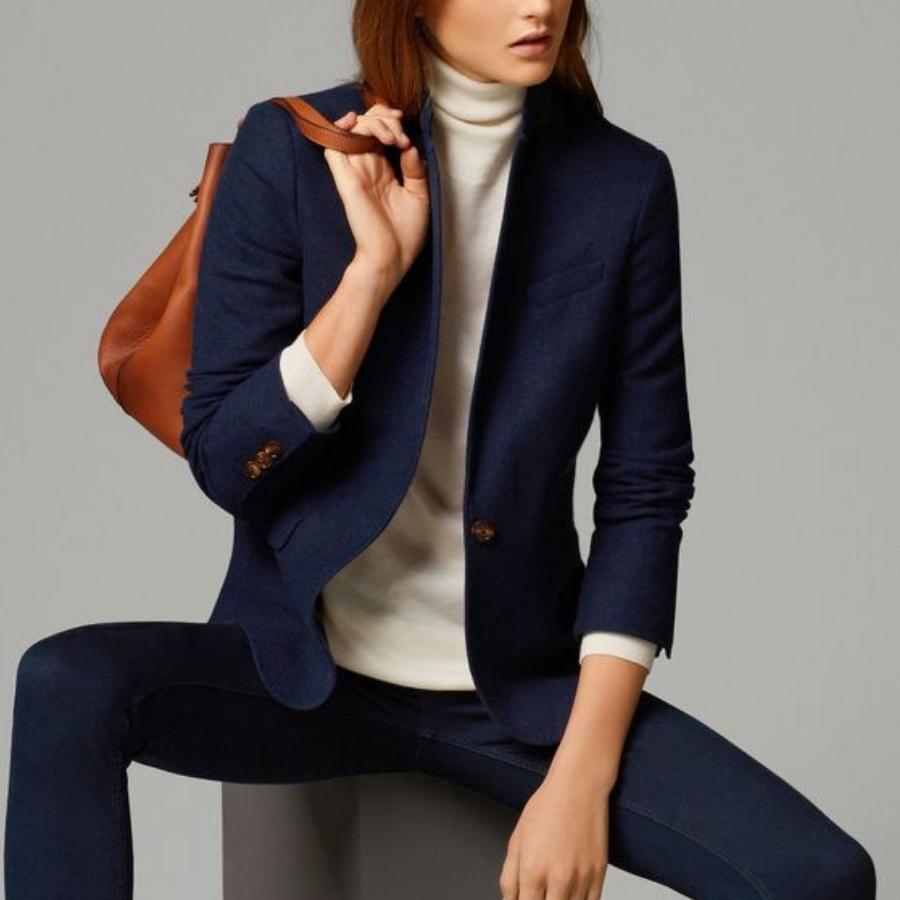 look-da-ufficio-blazer-blu