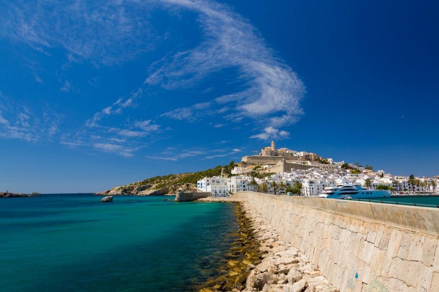 camminare a Ibiza