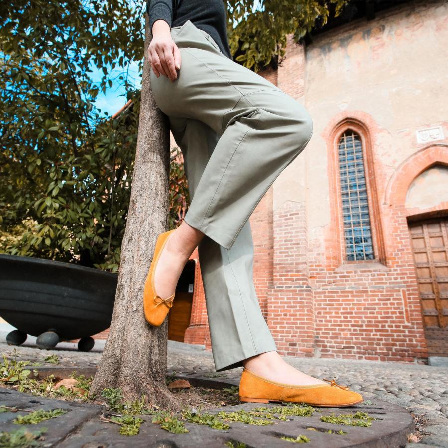 scarpa-ballerina-claudia-gialla