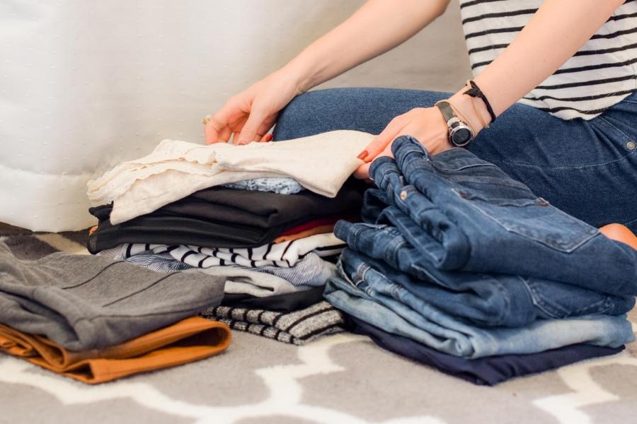 organizzare scarpe decluttering