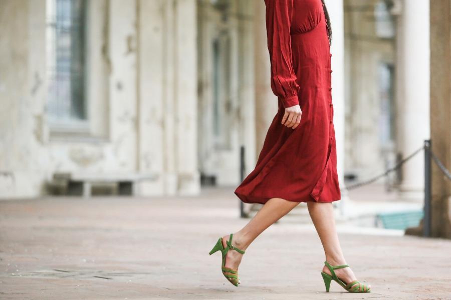 organizzare scarpe sandalo bella