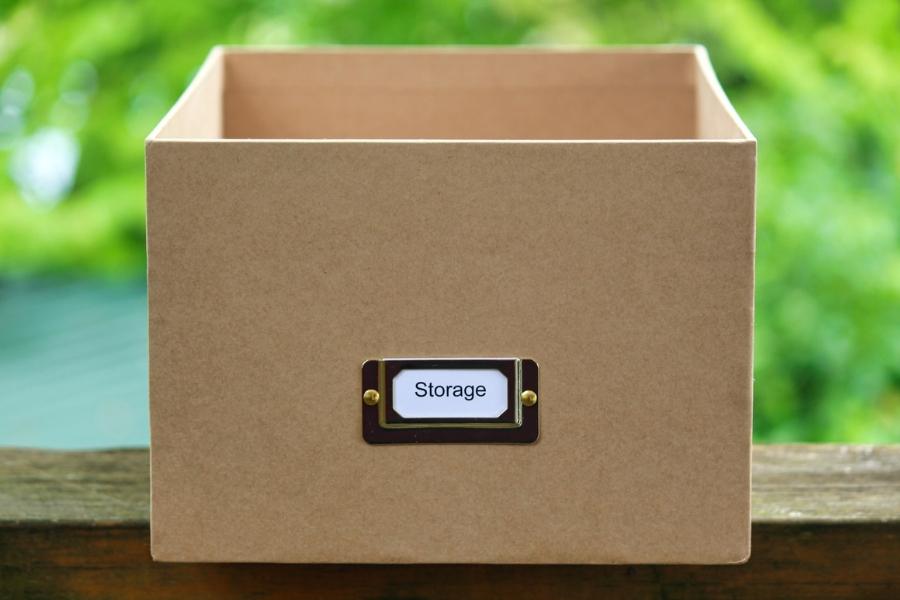 organizzare scarpe scatola